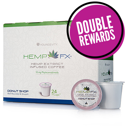 Hemp FX<sup>®</sup> YCup – Donut Shop (24 Count)