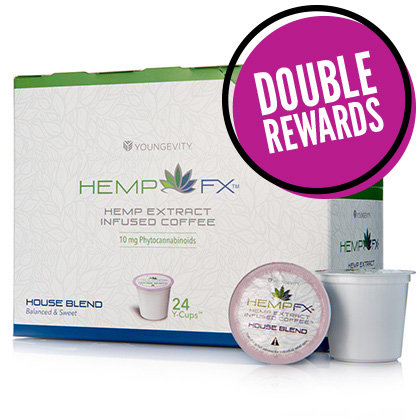 Hemp FX<sup>®</sup> YCup – House Blend (24 Count)